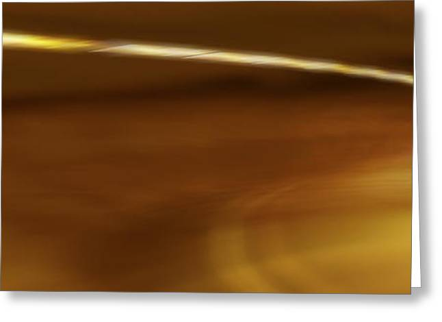 The Light Scene Greeting Cards - Step Into The Light Panoramic Greeting Card by Mike McGlothlen