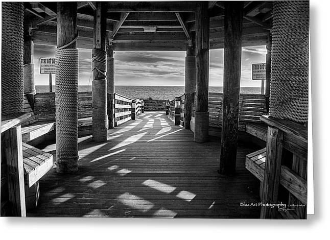 Panama City Beach Greeting Cards - Step Into The Sun Greeting Card by Volker
