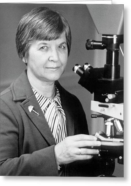 Stephanie Kwolek Greeting Card by Hagley Museum And Archive