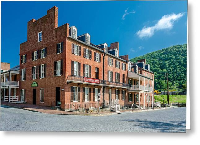 Civil War Site Greeting Cards - Stephensons Hotel Greeting Card by Guy Whiteley