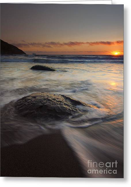 Stepping Stones Greeting Cards - Stepping Stones Greeting Card by Mike  Dawson