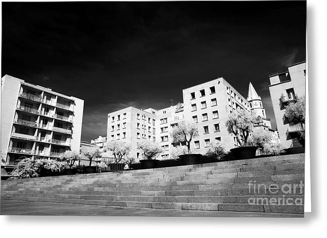 D.w Greeting Cards - Steps in Marseille Greeting Card by John Rizzuto
