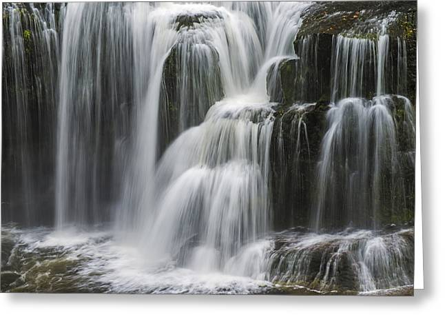 Steps Of Water Greeting Card by Loree Johnson