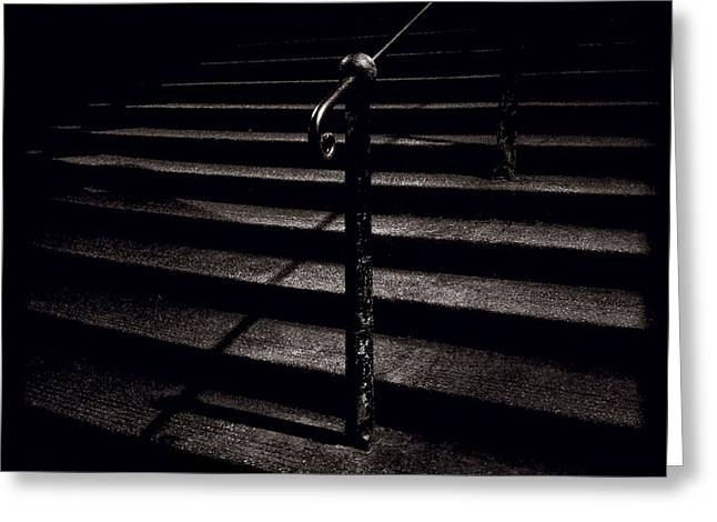 Stone Steps Greeting Cards - Steps to Advocates Close Greeting Card by Dave Bowman