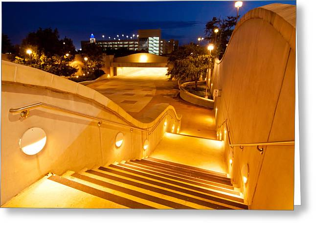 Aggies Greeting Cards - Steps to Kyle Field Greeting Card by Linda Unger