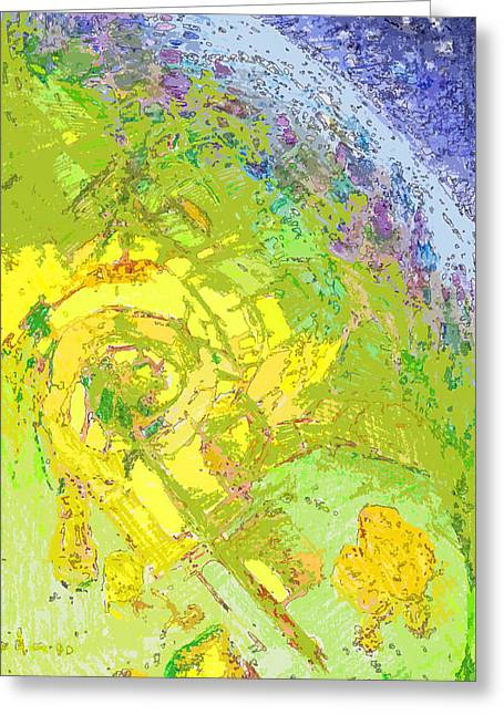 Birdseye Digital Art Greeting Cards - Steptoe Greeting Card by Gregg Caudell
