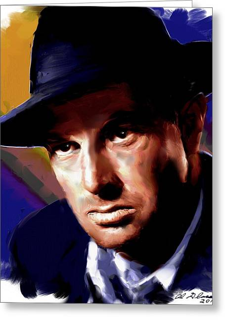 Allen Glass Greeting Cards - Sterling Hayden Greeting Card by Allen Glass