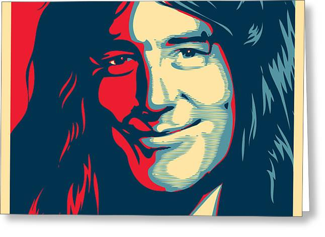 Steve Harris Greeting Card by Unknow