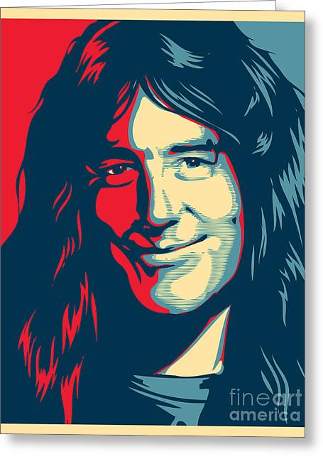 Rock N Roll Greeting Cards - Steve Harris Greeting Card by Unknow