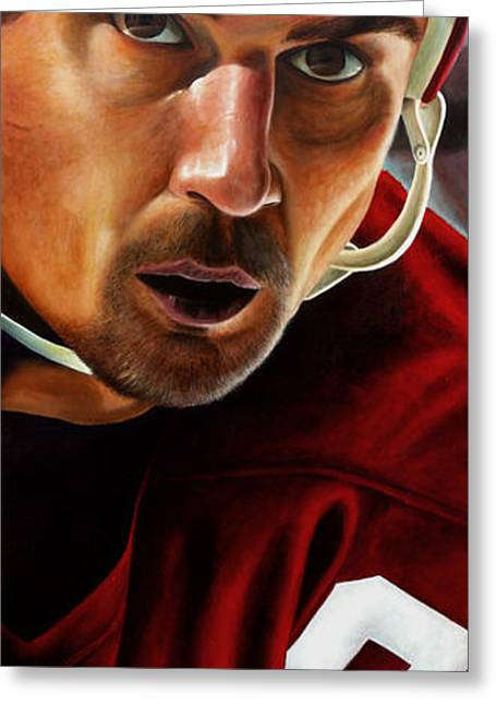 Yzerman Greeting Cards - Stevie Y Greeting Card by Marlon Huynh
