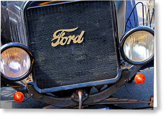 Ford Model T Car Greeting Cards - Still Cruisin After All These years Greeting Card by Kris Hiemstra