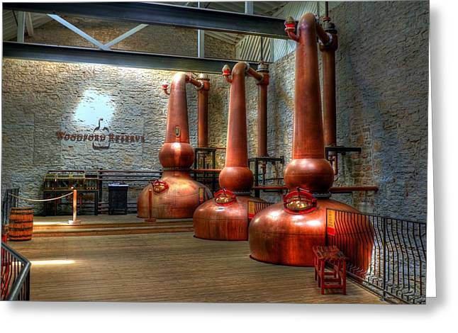 Distillery Greeting Cards - Still In Kentucky Greeting Card by Mel Steinhauer