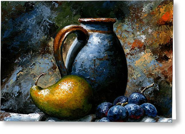 Still life 24 Greeting Card by Emerico Imre Toth