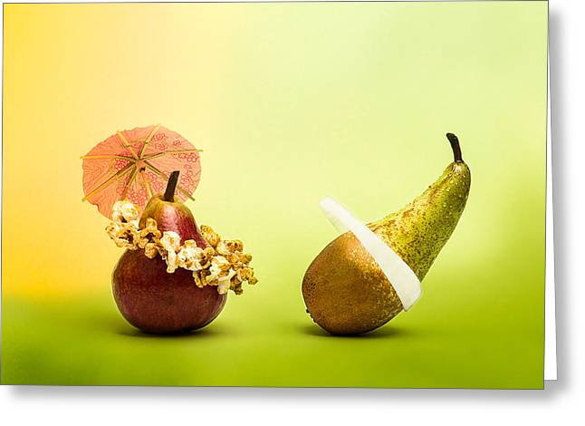 Pear Art Greeting Cards - Still Life - Active Life Greeting Card by Alexander Senin