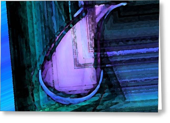Geometric Digital Art Greeting Cards - Still Life and Geometric Art Greeting Card by Mario  Perez