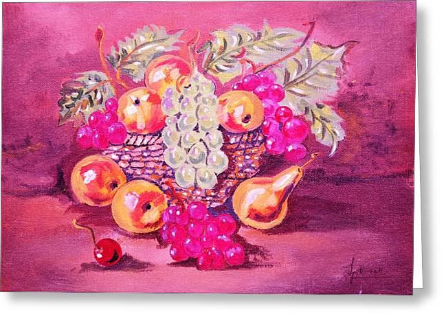 Still Life Art Greeting Card by Jyoti Vats