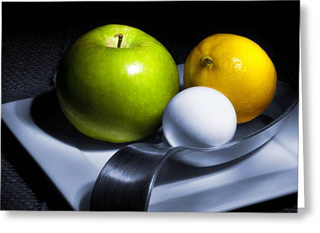Lemon Art Greeting Cards - Still Life Eclectic 2 Greeting Card by Cecil Fuselier