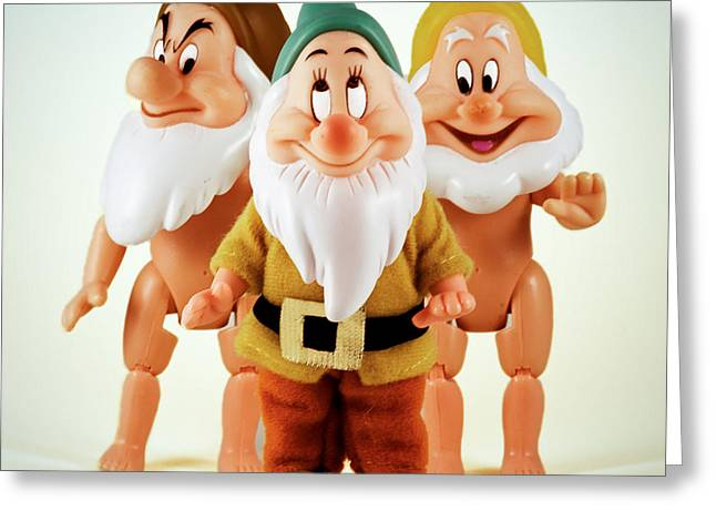Recently Sold -  - Surprise Greeting Cards - Still Life with Dwarfs Greeting Card by Mark Fearon