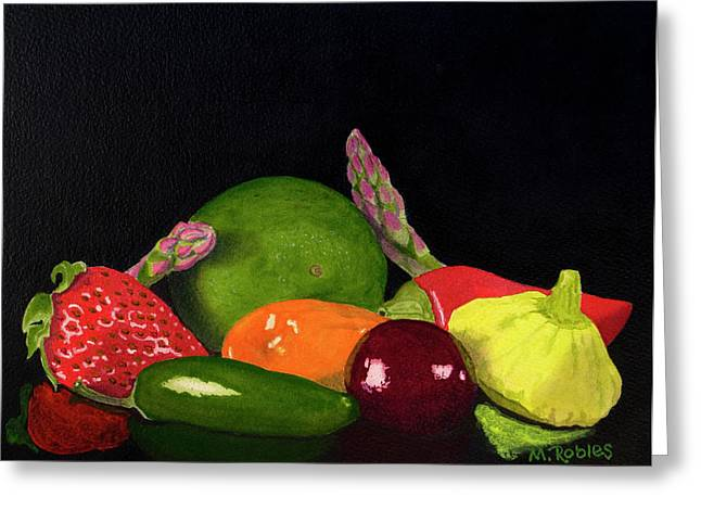 Still Life No. 3 Greeting Card by Mike Robles