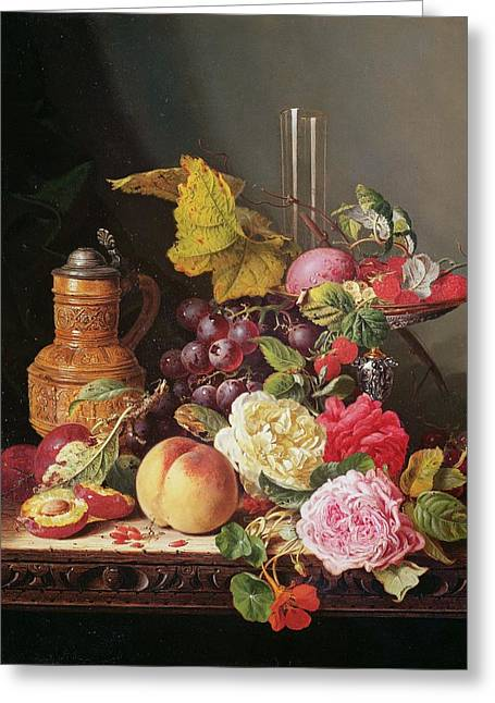 Still Life  Greeting Card by Edward Ladell
