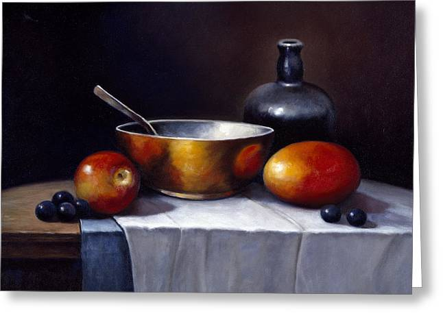Zaccheo Greeting Cards - Still Life Rhapsody Greeting Card by John Zaccheo