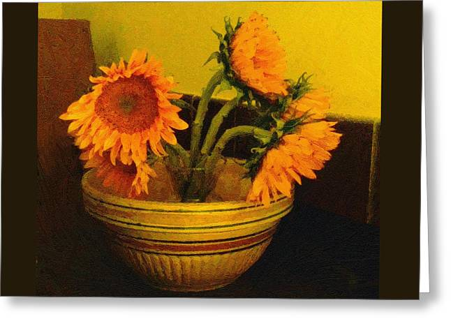 Still Life September Greeting Card by RC deWinter