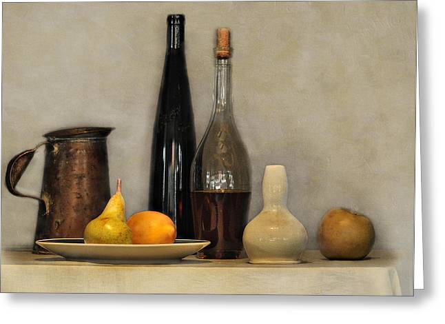 Still Life Study Greeting Card by Carol Eade
