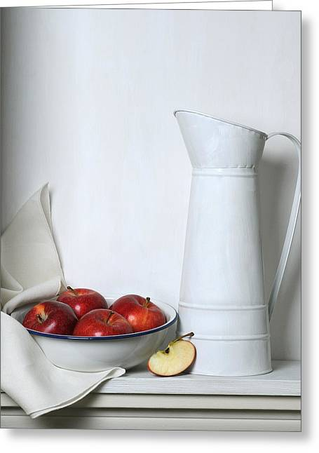 Krasimir Tolev Photography Greeting Cards - Still Life with Apples Greeting Card by Krasimir Tolev
