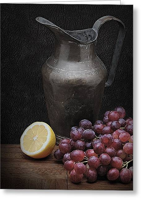 Krasimir Tolev Photography Greeting Cards - Still Life with Grapes Greeting Card by Krasimir Tolev