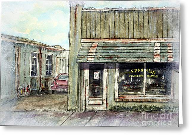 Historic Franklin Tennessee Greeting Cards - Still Makin Memories Greeting Card by Tim Ross