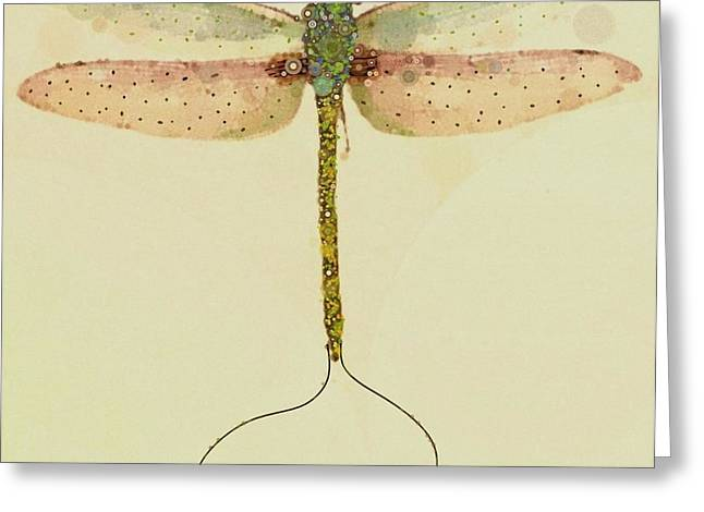 Dragonflies Greeting Cards - Still Greeting Card by Steven Boland