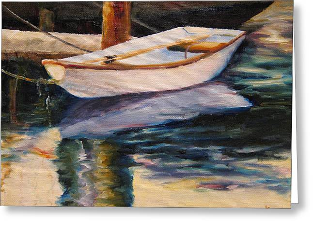 Diane Kraudelt Greeting Cards - Still Water Greeting Card by Diane Kraudelt