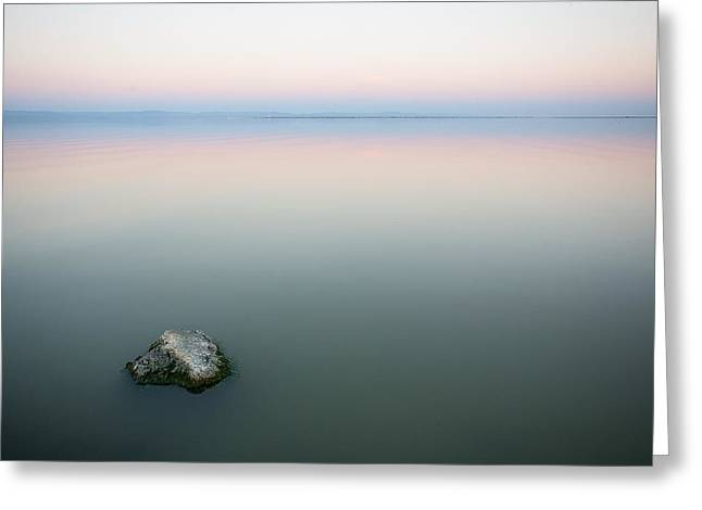 California Deserts Greeting Cards - Still Water Greeting Card by Peter Tellone