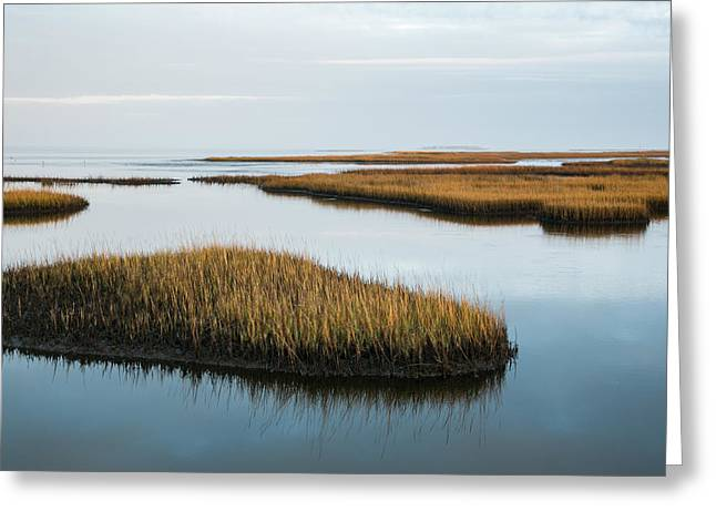 Port St Joseph Greeting Cards - Still Waters Greeting Card by Jurgen Lorenzen