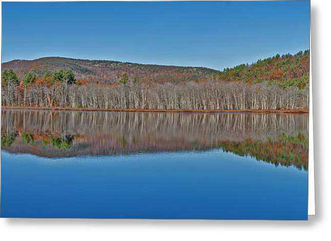 Maine Landscape Greeting Cards - Still Waters Greeting Card by Murray Dellow
