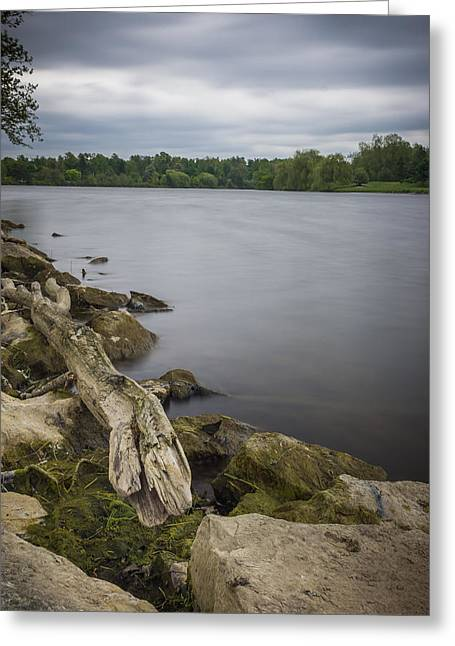 Frederick Greeting Cards - Still Waters under a grey sky Greeting Card by Chris Bordeleau