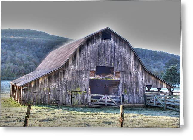 Boxley Valley Greeting Cards - Still Working Greeting Card by Tony  Colvin