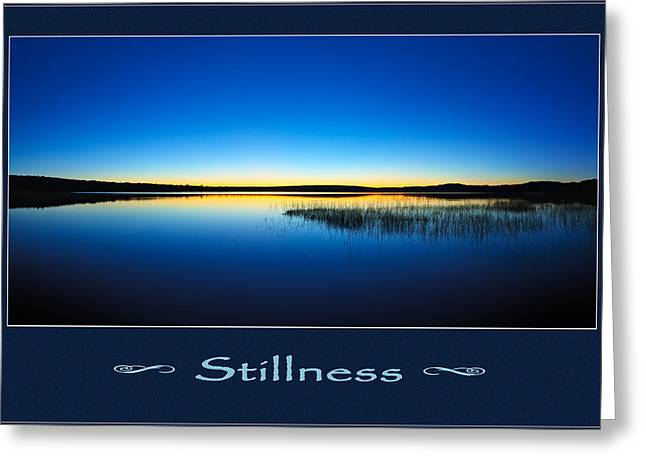 Downeast Greeting Cards - Stillness 2 Greeting Card by Bill Caldwell -        ABeautifulSky Photography