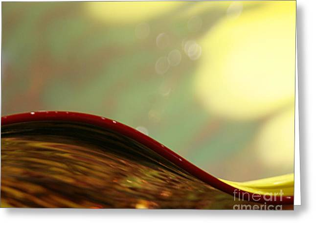 Chihuly Glass Greeting Cards - Stillness Greeting Card by Eileen Gayle