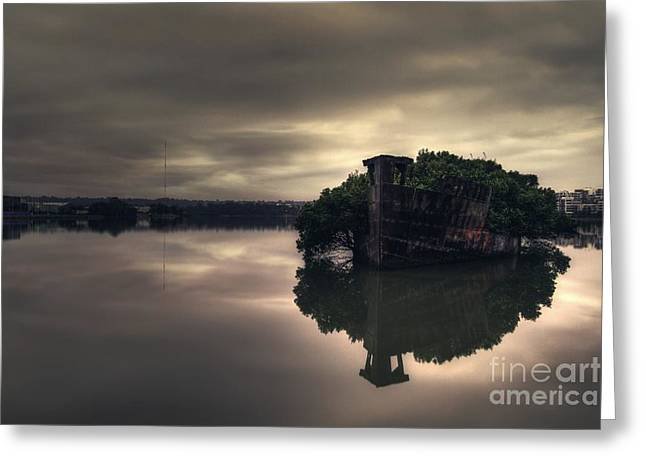 Gloom Greeting Cards - Stillness Speaks Greeting Card by Andrew Paranavitana