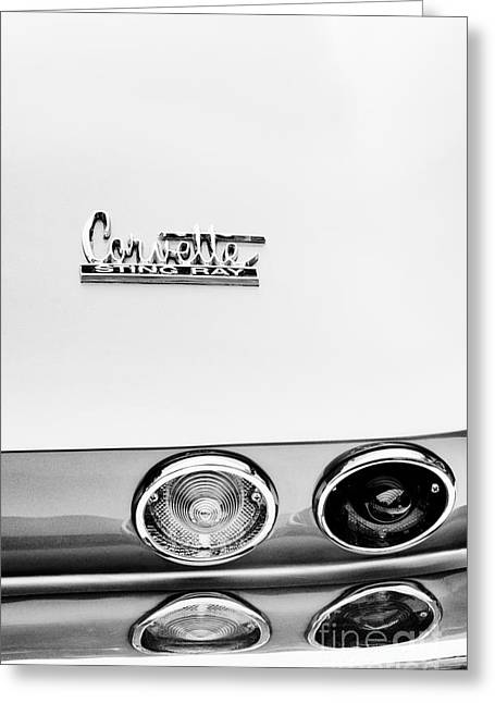 Chevrolet Trunk Greeting Cards - Sting Ray Abstract Greeting Card by Tim Gainey