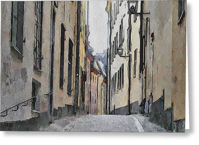 Urban Nature Study Greeting Cards - Stockholm 13 Greeting Card by Yury Malkov