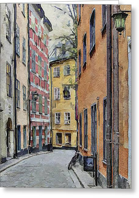 Nature Study Digital Greeting Cards - Stockholm 15 Greeting Card by Yury Malkov