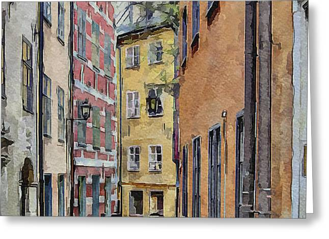 Stockholm 15 Greeting Card by Yury Malkov