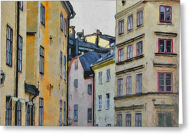 Urban Nature Study Greeting Cards - Stockholm 8 Greeting Card by Yury Malkov