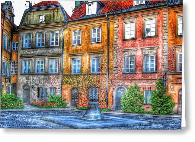 Galmastan Greeting Cards - Stockholm Galma Stan Old Town 2 Greeting Card by Yury Malkov
