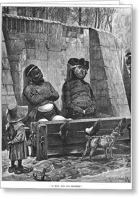 Stocks, 1886 Greeting Card by Granger