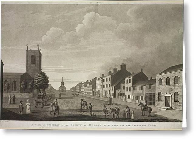 Stockton Greeting Card by British Library