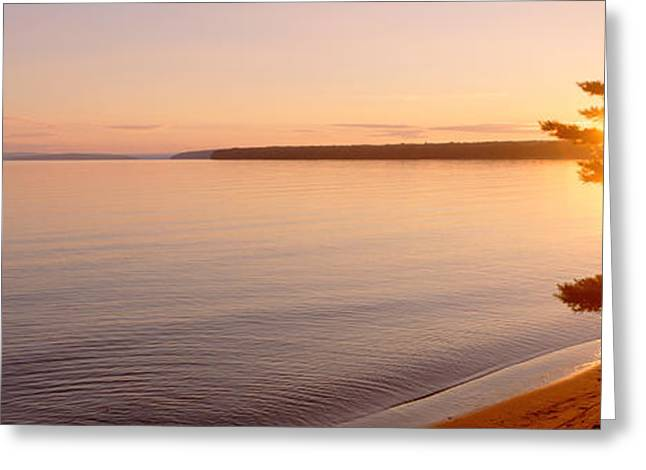 Stockton Island, Lake Superior Greeting Card by Panoramic Images