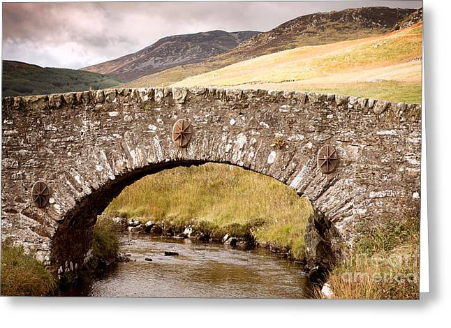 Stone Bridge Highlands  Greeting Card by Jane Rix